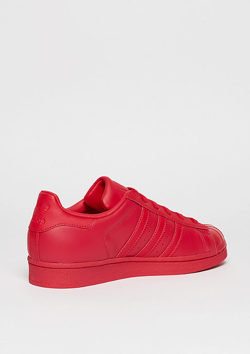 adidas Schuh Superstar Glossy Toe ray red/ray red/core black