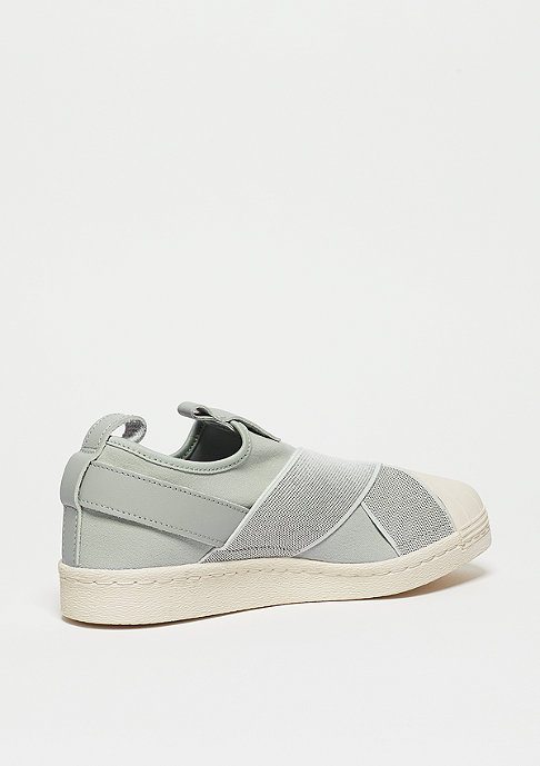 adidas Laufschuh Superstar SlipOn clear onix/clear onix/off white