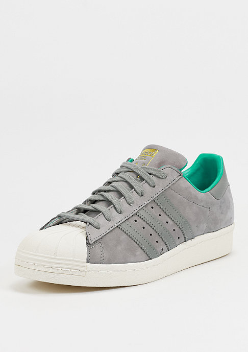 adidas Schuh Superstar 80s solid grey/shock mint/white