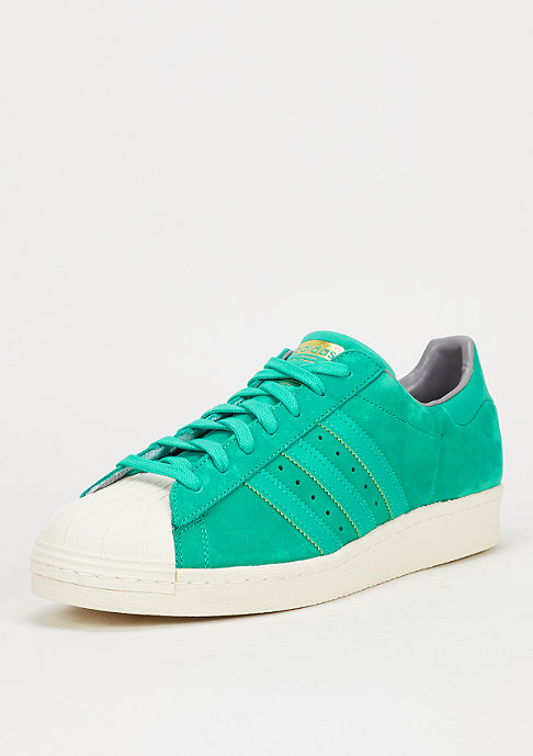 adidas Schuh Superstar 80s shock mint/solid grey/white
