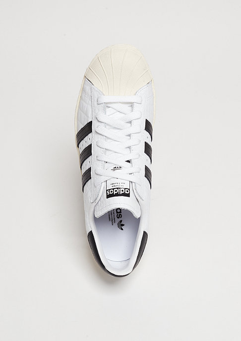 adidas Schuh Superstar 80s white/core black/off white