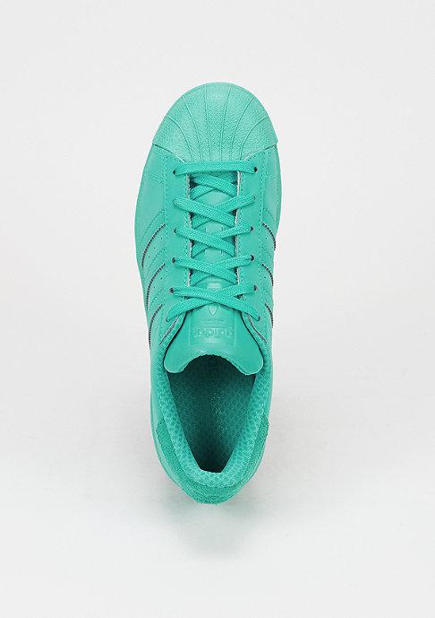 adidas Schuh Superstar Reflective shock mint