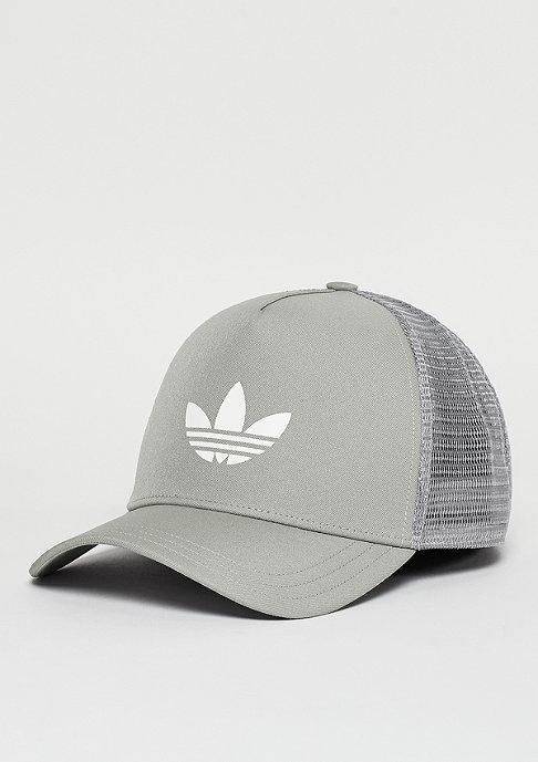adidas Trucker-Cap Trefoil Trucker mgh solid grey/white