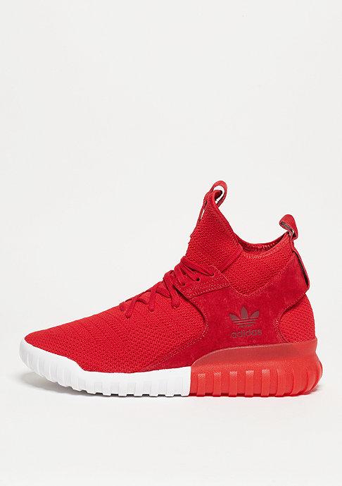 adidas Schuh Tubular X Primeknit scarlet/collegiate burgundy/white