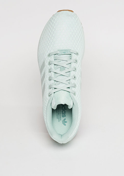 adidas Laufschuh ZX Flux vapour green/vapour green/gum