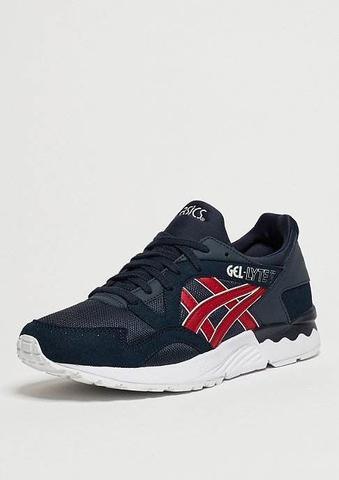 Asics Schuh Gel-Lyte V india ink/burgundy
