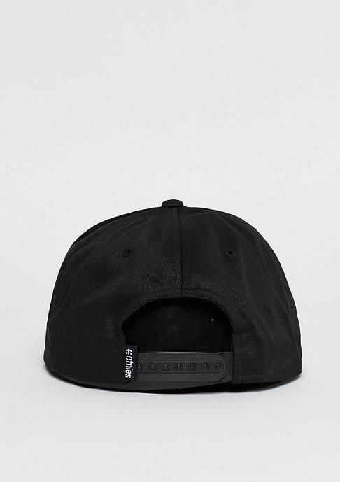 Etnies Snapback-Cap Corporate 5 black/white