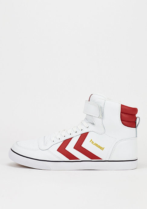 hummel Schuh Stadil Classic white/red