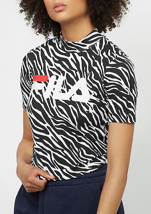 Fila T-Shirt Urban Line All Turtle zebra aop