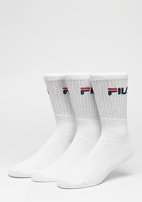 Fila Sportsocke Men 3-Pack F9505 white