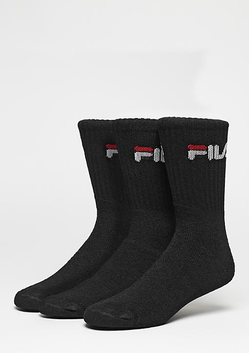 Fila Sportsocke Men 3Pack F9505 black