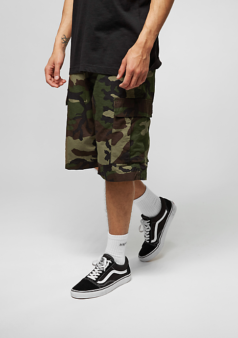 Carhartt WIP Cargo-Shorts Regular camo green rinsed