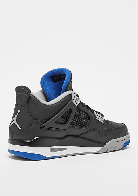 JORDAN Air Jordan 4 Retro black/soar/matte silver
