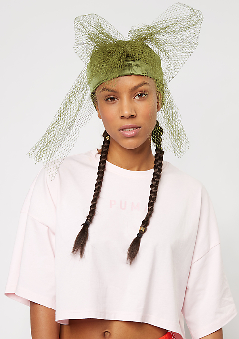 Puma Fenty by Rihanna Baseball-Cap Bow Cap Net olive branch