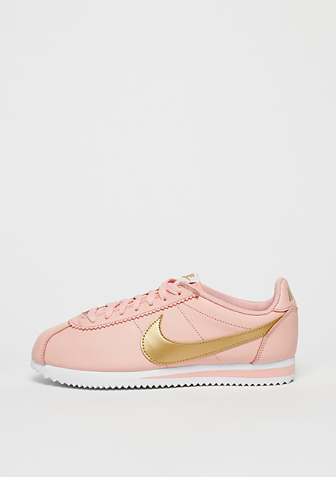 NIKE Classic Cortez Leather arctic orange/metallic gold/white