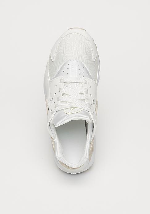 NIKE Schuh Air Huarache Run SE (GS) summit white/summit white/light bone