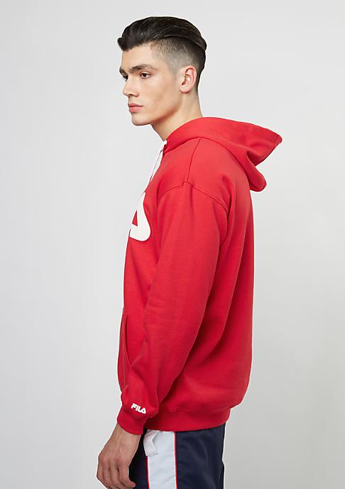 Fila Hooded-Sweatshirt Urban Line Basic Hoody Classic Logo Kangaroo true red
