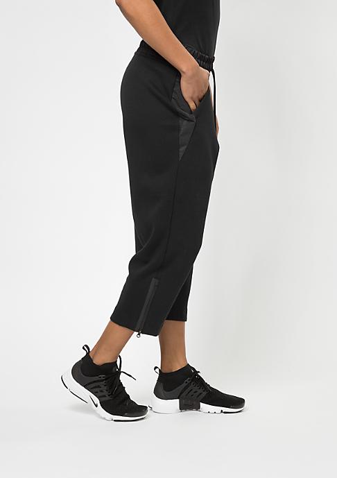 NIKE Trainingshose TCH FLC Pant SNKR black/black