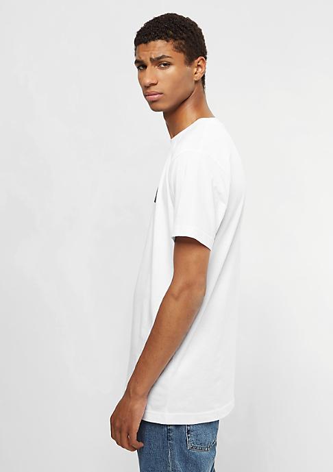 Mister Tee T-Shirt Fake Love white