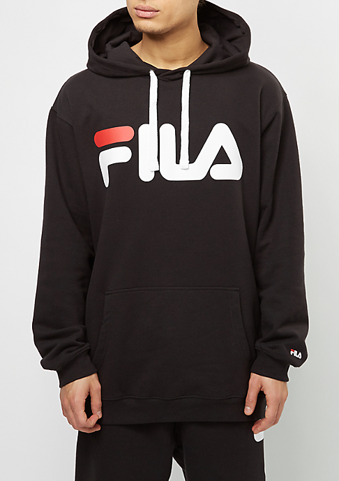 Fila Hooded-Sweatshirt Urban Line Basic Classic Logo Kangaroo black