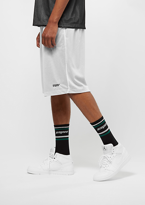 SNIPES Reversible Mesh black/white/evergreen