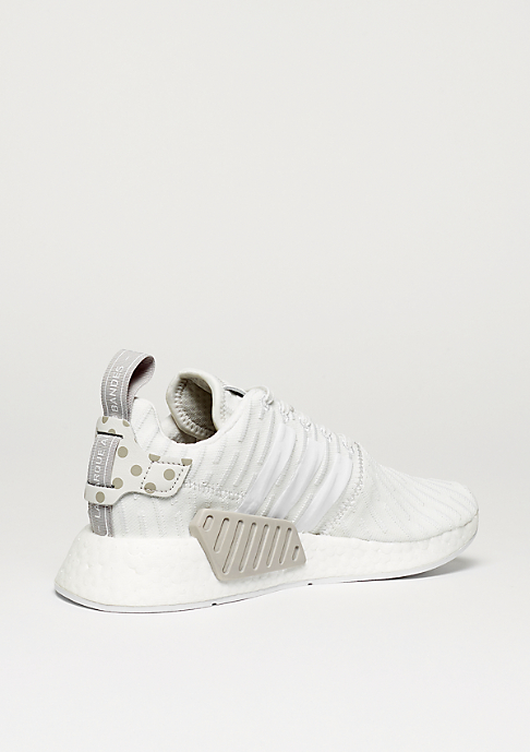 adidas NMD R2 clear granite/vintage white/white