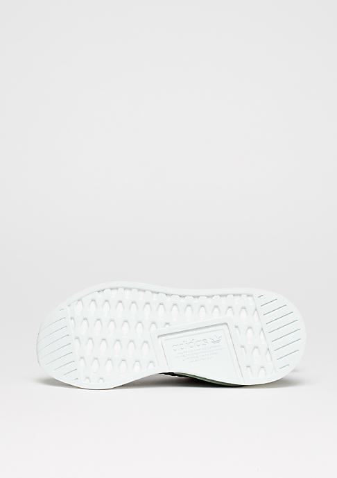 adidas Laufschuh NMD R2 utility ivy/white/trace grenn