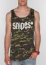 Tanktop Snipes Jersey Big camo/white