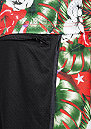 C&S Shorts Istanbulz Mesh black/red