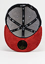 Suede Patch 59Fifty grey/scarlet