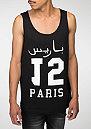 Tanktop Paris 15 black