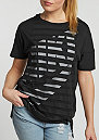 T-Shirt Stripe black/white
