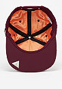 Snapback-Cap Flight maroon/orange