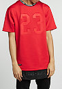 T-Shirt BL Legend Long red/black/white