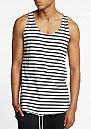 Tanktop Stripe black/white