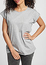 T-Shirt Extended Shoulder grey