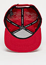 Jumpman Perforated gym red/reflective silver