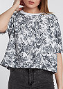 T-Shirt NSW Top AOP FTW black/white