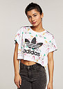 T-Shirt Surf Crop white