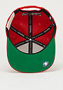 Snaback-Cap Wool Solid NBA Chicago Bulls red