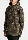 Hooded-Sweatshirt Long Hood-Zip camo