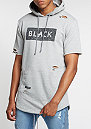 C&S BL Hooded Presidental Distressed Cut Off grey heather/bl