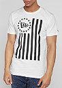 T-Shirt Vert Flag optic white