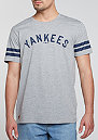 Stripes MLB New York Yankees light grey heather