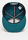 Snapback-Cap Limitless True midnight turquoise/midnight turquoise/white