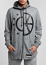 Hooded-Zipper Air carbon heather/cool grey/black