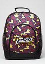 Rucksack Camouflage NBA Cleveland Cavaliers burgundy