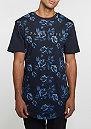 T-Shirt WL Paris Life Scallop navy heather/gold