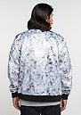 C&S Jacket WL Infintiy Bomber white marble/black