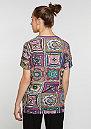 T-Shirt Crochita multicolor